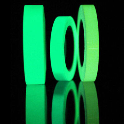 10M Luminous Self-adhesive Glow In The Dark Stickers Home Stage Decor Tape Roll