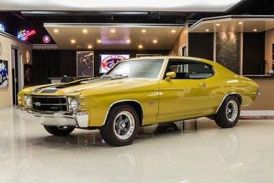 Chevrolet Chevelle  Frame Off Restored! GM 427ci V8, TH400 Automatic, PS, PB, Disc, Original Color!