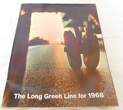 John Deere Long Green Line For 1968 Booklet Ads Tractors Farm Equipment 96 Pages