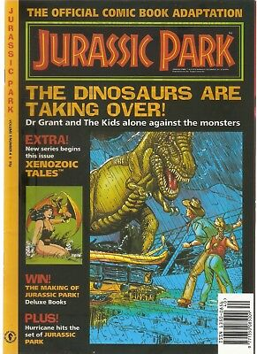 JURASSIC PARK - Official Comic Book Adaptation - Volume 1 Number 4 (Dark Horse)