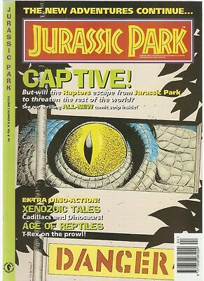JURASSIC PARK - The New Adventures - Volume 1 Number 8 (Dark Horse) 1994