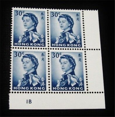 nystamps British Hong Kong Stamp # 208a Mint OG NH Plate Block Paid: $80