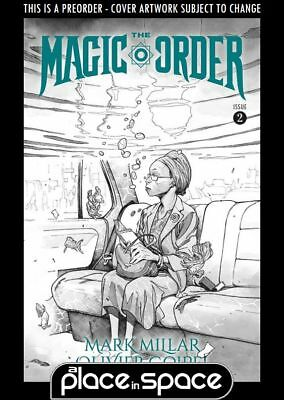 (Wk29) The Magic Order #2B - B+W Variant - Preorder 18Th Jul