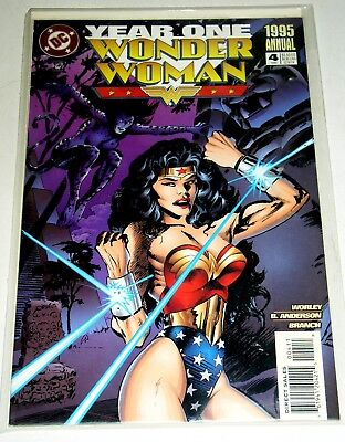 Wonder Woman  Annual #4  Year One - 1985 - 60 Pages