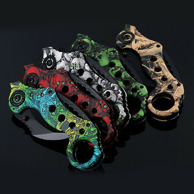 Outdoor Scorpion Claw Karambit Knife Hunting Camping Survival Tactical Tool Hot