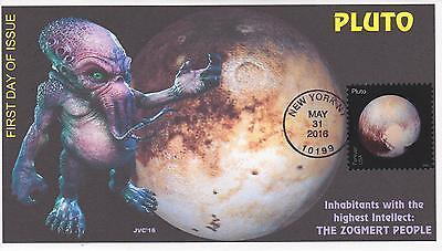 Jvc Cachets - 2016 Pluto Explored Issue Fdc First Day Cover - Space Science #1
