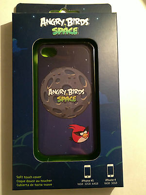 Angry Birds Space Hard Shell Soft Touch Case for Apple iPhone 4 4s cover