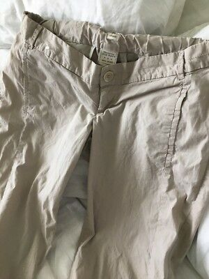 Old Navy Womens Maternity Stretch Crop Low Rise Pants Size 2