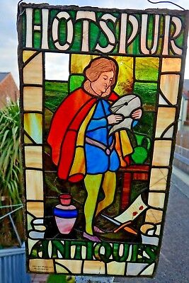 Hotspur Antiques Stained Glass Window By William Morris & Co - Extremely Rare