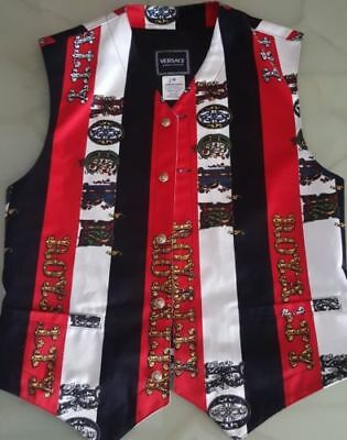 Versace Jeans Couture Gilet Rock And Royalty - Vintage In Perfette Condizioni