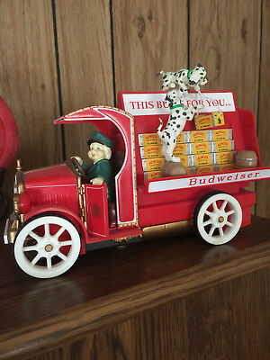 Enesco Budweiser Express Multi-Action Musical (Wind Up Musical - Does Not Work)
