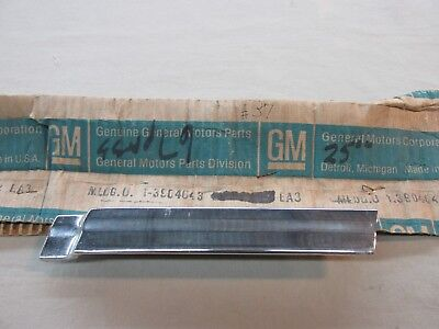 *  NOS 1967 Chevy Impala Biscayne BelAir SS Head Light Lower Molding GM 3904643