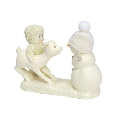 Department 56 Snowbabies Peace New 2018 DEER ME, WHO'S THAT? Snowbaby 6001878