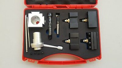 12pce Quick Change Tool Post & Holder+Boring Bar Kit (Suits to Mini Metal Lathe)
