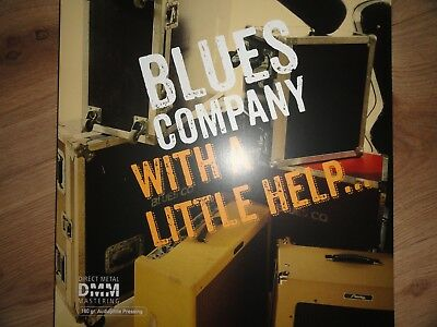 BLUES COMPANY - With A Little Help... - 2 LP-Set Inakustik DMM Audiophil