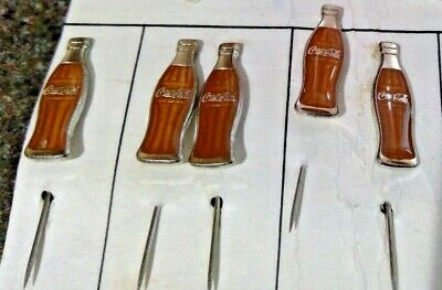 Coca Cola Bottle lapel Pin Vintage Rare Trading Collectable Free Shipping