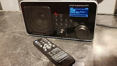 Pinell Supersound ll Dab internet wifi radio with remote control. Exc cond