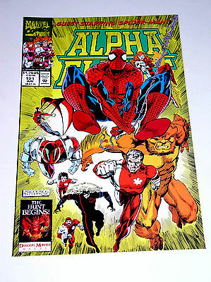 Alpha Flight #121  The Spider-Man Cross-Over Issue