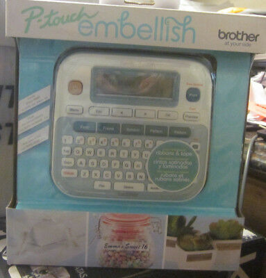 P-touch Embellish Label Maker