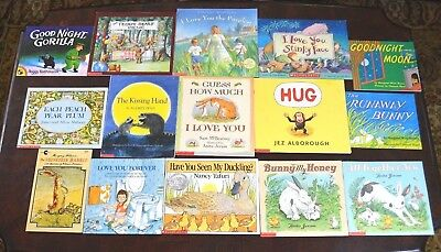 Set Of 15 Classic Most Popular Baby Children S Picture Books