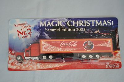 "PETERBILT 378 SZ ""Coca-Cola"" MAGIC CHRISTMAS! 2003, 2 v.3 - Werbetruck, neu, OVP"