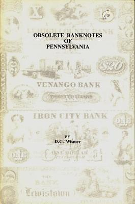 Booklet: Pennsylvania Obsolete Currency Catalog - Wismer