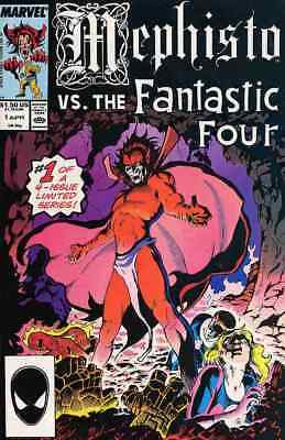 MEPHISTO vs. THE FANTASTIC FOUR #1-4 VERY FINE / NEAR MINT COMPLETE SET 1987