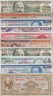 10 Banknotes from Mexico