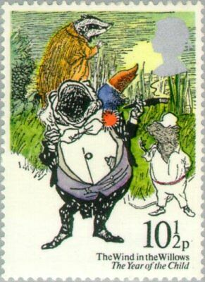 GREAT BRITAIN -1979- International Year of the Child, The Wind in the Willows