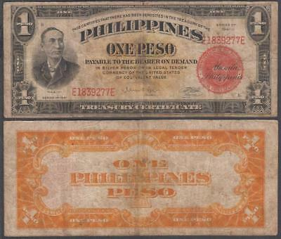 1941 Commonwealth of the Philippines 1 Peso