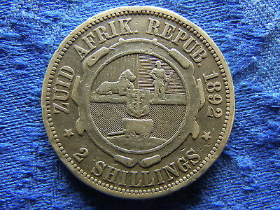 South Africa 2 Shillings 1892, Km6
