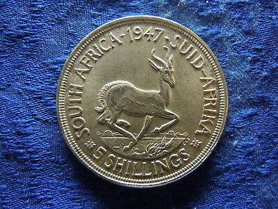 South Africa 5 Shillings 1947, Km31