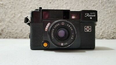 Pre-Owned Yashica Auto Focus S 35 MM Film Camera TESTED Works