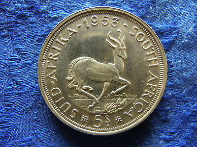 South Africa 5 Shillings 1953, Km52