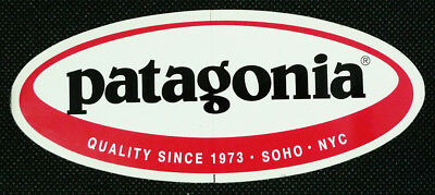 Patagonia Oval Promotional Sticker 5""
