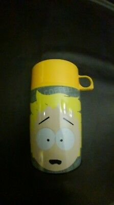 South Park Butters Metal Lunchbox Thermos Comedy Central 2001 Meca