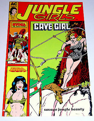 Jungle Girls #2  Bob Powell Good Girl Art [W/ Photocover On Back Cover]