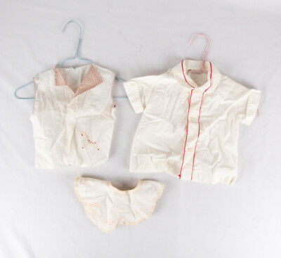 Vintage Baby Clothes by Fawn Fashions and Baby Togs, Lot of 3, Dickie, Shirts