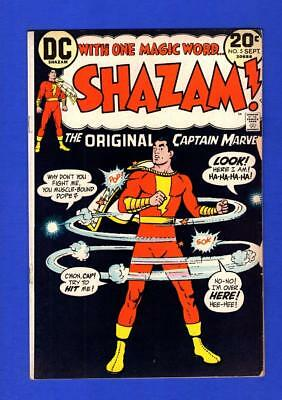 Shazam The Original Captain Marvel #5 Vf- Higher Grade Bronze Age Dc (Chipping)