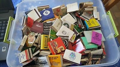 Lot of 350+ Vintage Matchbooks & Matchboxes Hotel Restaurant Bar International