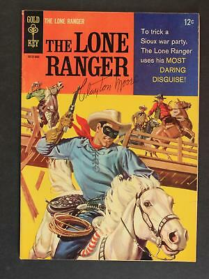 Clayton Moore (1914-1999) Autograph 1958 Lone Ranger Comic Book #3 ~
