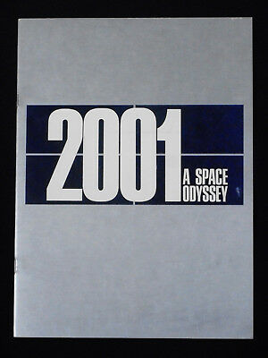 2001: A Space Odyssey 1968 * Stanley Kubrick * Science Fiction * Rare Program!!