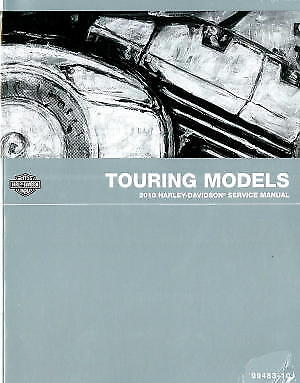 2010 HARLEY DAVIDSON Touring Motorcycle Service Manual - ABS Included :  99483-10