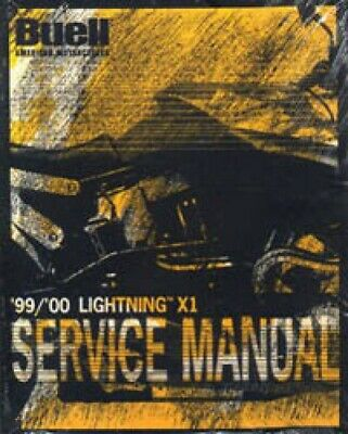 1999-2000 Buell Lightning X1 Motorcycle Service Manual : 99490-00Y