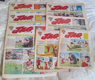 Jag comic x 7 (1969). Good-Very Good comics