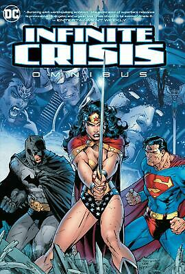 Infinite Crisis Omnibus by G. Johns Hardcover Book Free Shipping!
