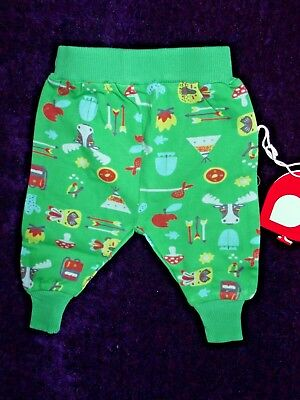Piccalilly baby organic cotton Hawkshead trousers parsnip pants 0-3 months BNWT