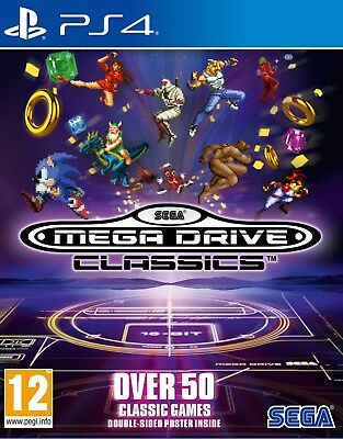SEGA Mega Drive Classics (PS4)  BRAND NEW AND SEALED - IN STOCK - QUICK DISPATCH