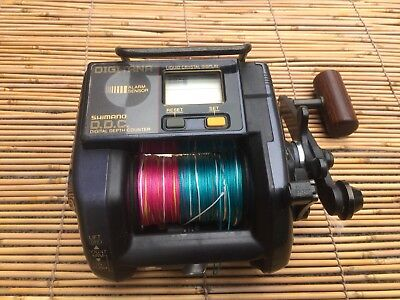 Shimano Digitana. 3000 Gt Digital Readout Reel