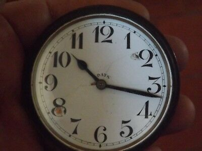 Superb Antique  8 Day Travel Clock Working